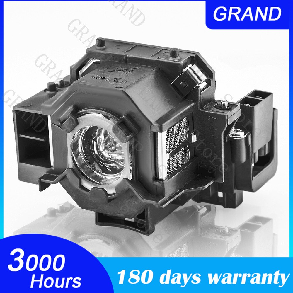 ELPLP41 V13H010L41 Replacement Projector Lamp for Epson S5 S6 S6+S52 S62 X5 X6 X52 X62 EX30 EX50 TW420 W6 77C EMP-H283A bulb недорого