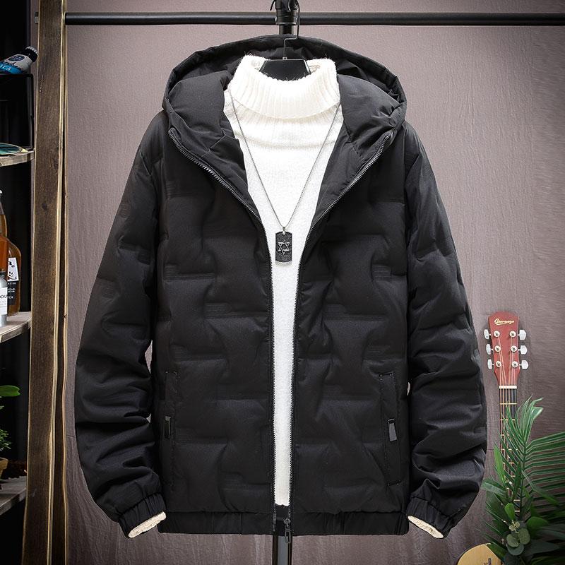 Мужская осенне-зимняя легкая пуховая хлопковая куртка для отдыха короткая Корейская брендовая Молодежная утепленная хлопковая куртка Chao ...