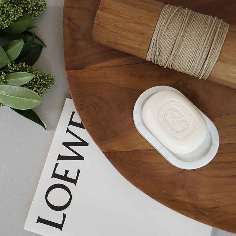 Mármore carrara branco criativo simples moderno banheiro caixa de sabão nordic amor natural europa noenname_null