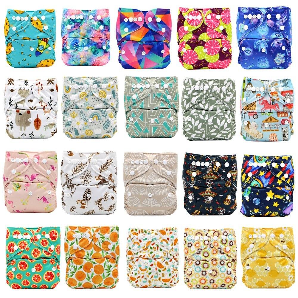 Детские моющиеся многоразовые тканевые карманные подгузники Aseanppy, выберите A1/B1/C1 из фото, подгузники/подгузники