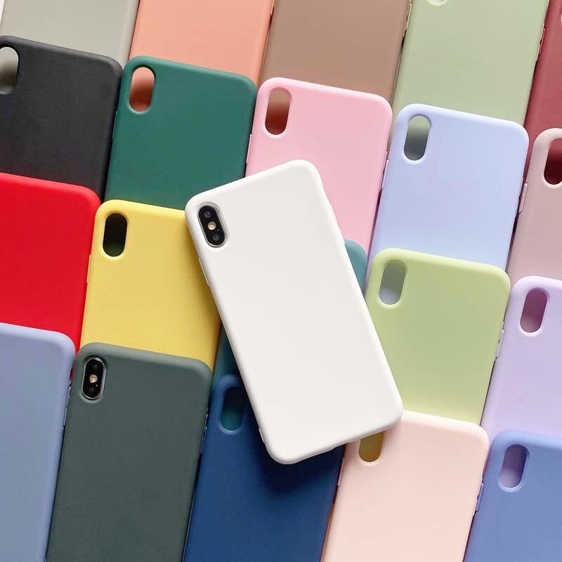 Custodia-funda de silicona para teléfono móvil inteligente, funda protectora a la moda,...