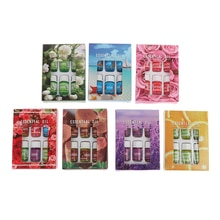 6 Bottles Essential Oil Massage Aroma Essential Oils Aromatherapy Diffusers Fragrances Rose Lavender