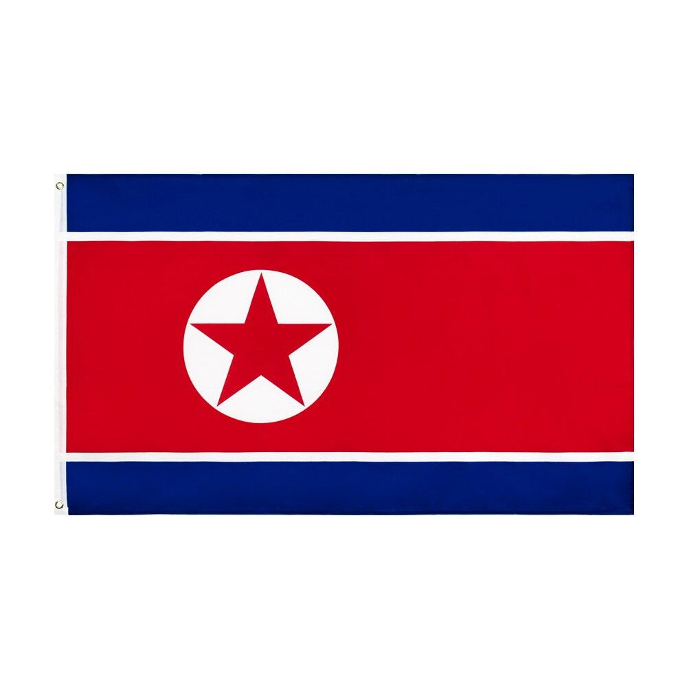 Flaglink 3x5fts 90*150cm PRK KP NK north korea flag of korean