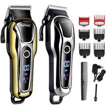 Barber shop hair clipper professional hair trimmer for men beard electric cutter hair cutting machin