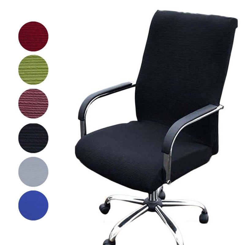Elastizität Büro Computer Stuhl Abdeckung Seite Arm Stuhl Abdeckung Spandex Rotierenden Lift Staub Abdeckung für Stuhl Universal Ohne Stuhl
