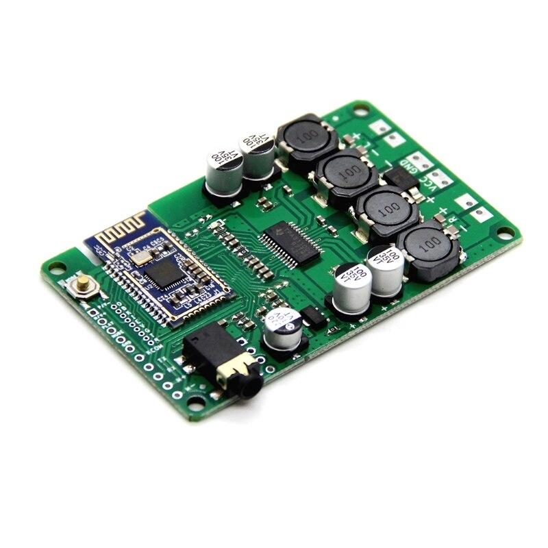 Placa amplificadora Bluetooth 5,0, Amplificador estéreo Mono, TWS, soporte auxiliar, 20W/30W