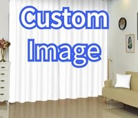 customize window curtains send picture window drapes home textile window treatments 3d print sunshade window curtains