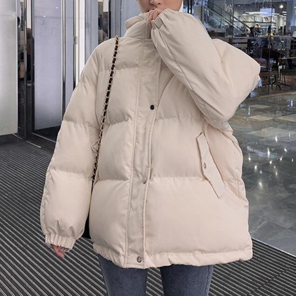 Женская зимняя Толстая куртка 2021, осенняя черная парка с длинным рукавом, Повседневная пуховая куртка фиолетового цвета с капюшоном, Женско...