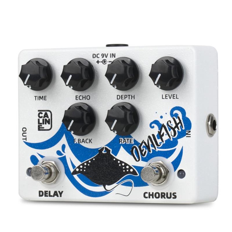 Caline DCP-03 DEVILFISH Chorus Delay Effect Pedal Guitar Accessories Dual Guitar Pedal enlarge
