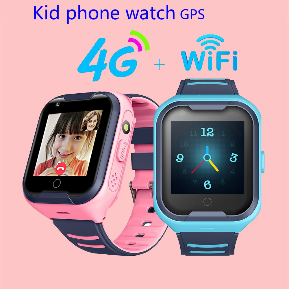 2020 Kids Smart Watch SOS Anti-lost Baby 4G SIM Card GPS WIFI Call Location LBS Tracking Smartwatch