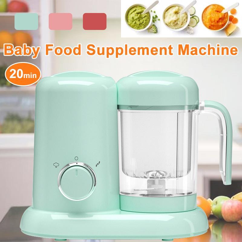 220V Elektrische Baby Lebensmittel Maker edelstahl Kochen Maker Dampfer Multifunktions Mischen Grinder Mixer Prozessor Bruch