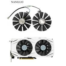 87 мм GTX1060 GTX1070 RX480 вентилятор охлаждения для ASUS GTX 1060 1070 RX 480 Видеокарта T129215SU PLD09210S12HH 28 мм вентиля