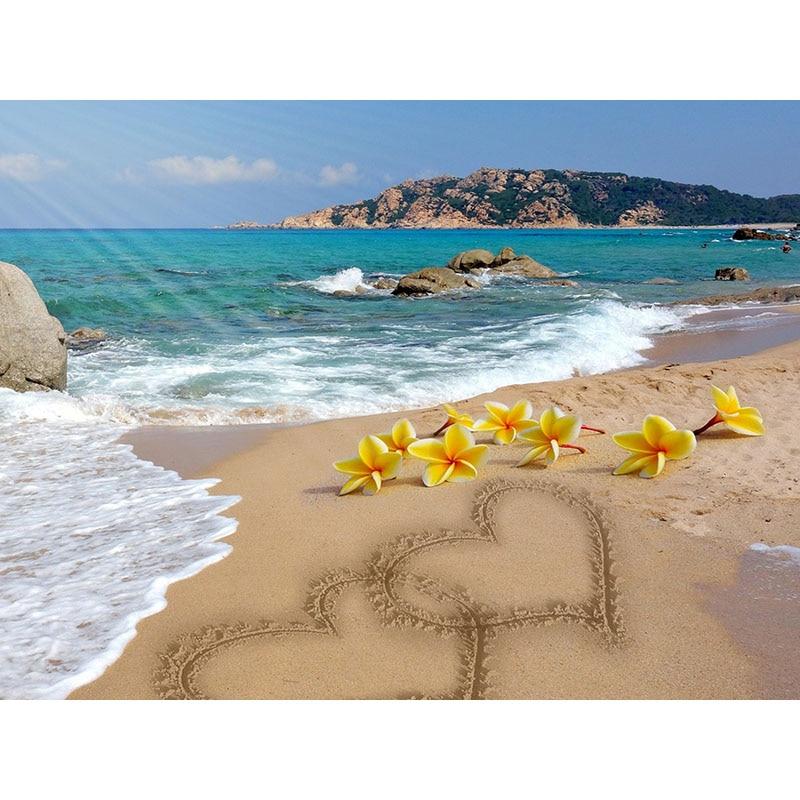Diamante ponto cruz frangipani imagem 5d pintura diamante mar bordado strass arte grânulo foto kits decoração para casa h97