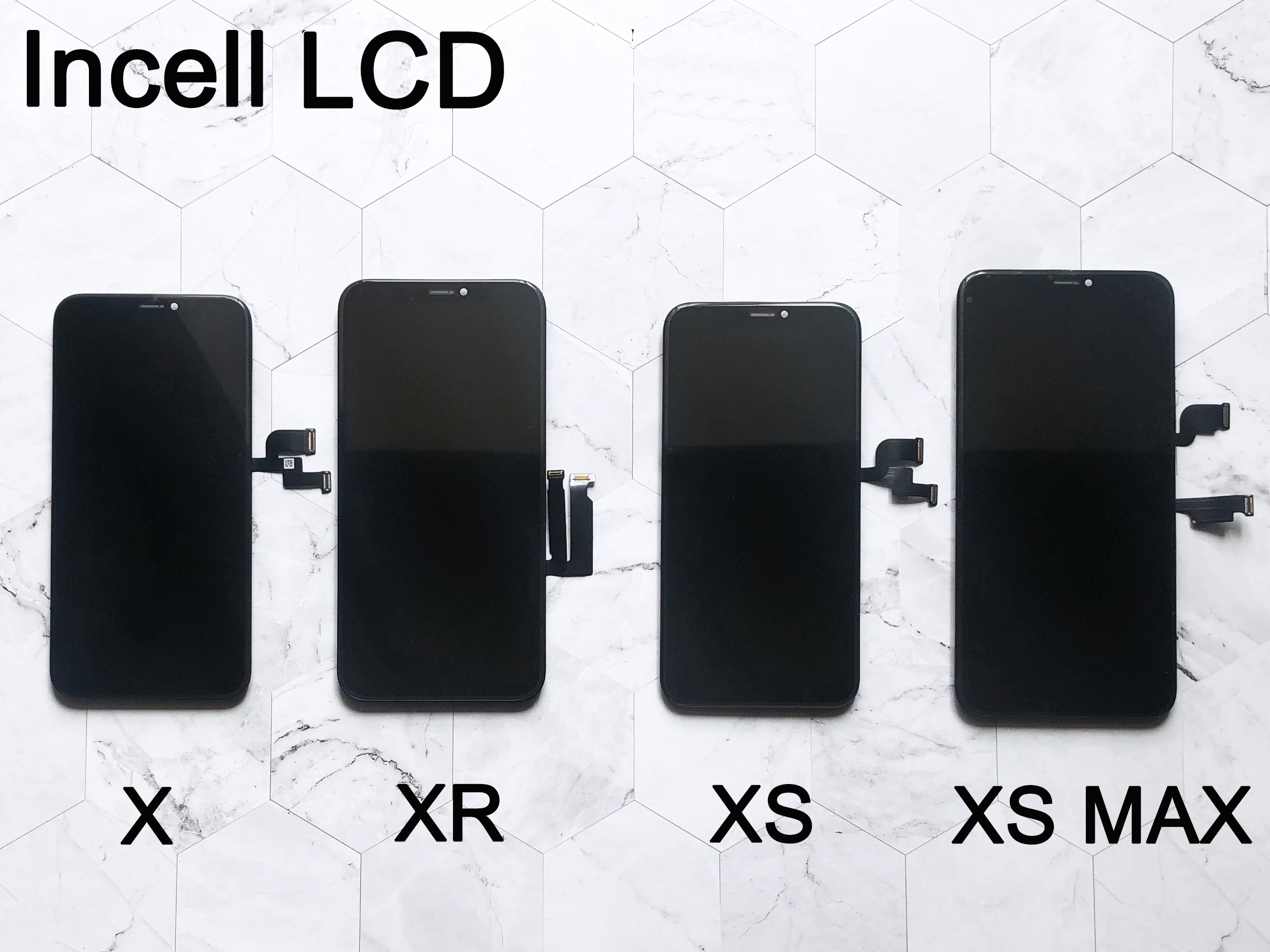 AAA For iPhone X OLED LCD Display For IPhone XS XR MAX Inell LCD 11 Touch Screen Digitizer Replacement Assembly Parts OEM OLED enlarge