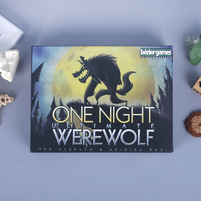 Фото - AAZZ Werewolves Board Game full English version for home party adult Financing Family playing cards game 24 cards geistesing board game 2 8 players family party best gift for children english instructions cards game reaction blitz game