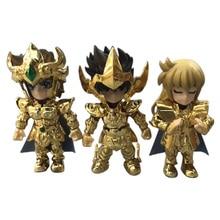 2 styles 3/5 pièces/ensemble Anime Saint Seiya chevaliers du zodiaque Figurine en PVC Figurine modèle à collectionner cadeau de noël jouet