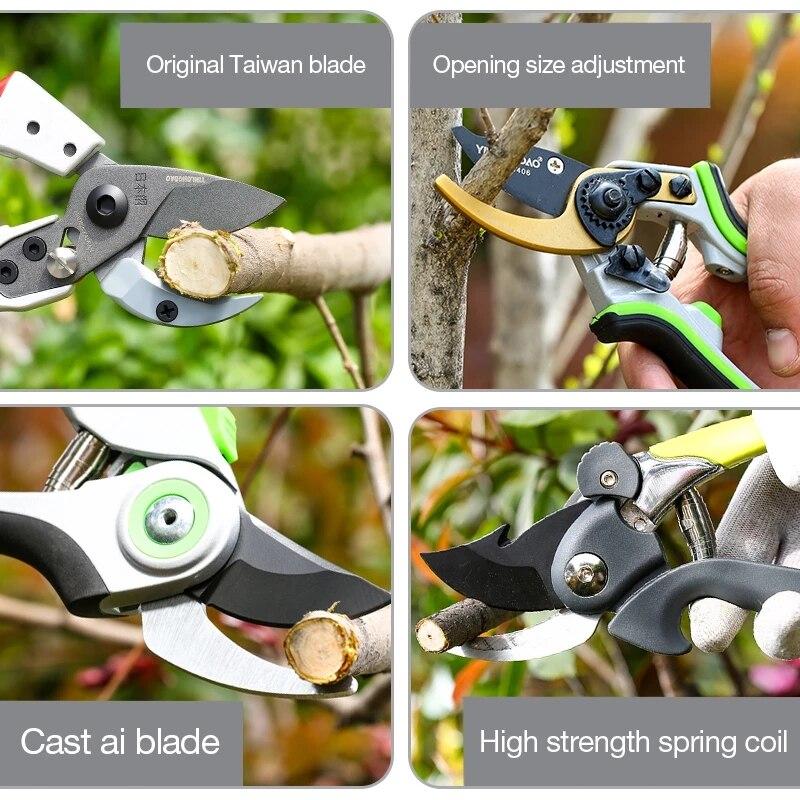 Aianduslõikekäärid, millega saab lõigata 35mm läbimõõduga - Aiatööriistad - Foto 4
