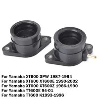 motorcycle carburetor interface adapter intake manifold for yamaha xt600 xt600e xt600z tt600 tt600e xt tt 600