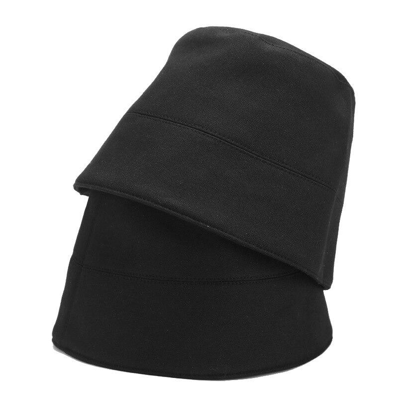 Nova moda vintage balde chapéus reversível bob chapeau femme hip hop gorro homens pescador caça streetwear rua punk boné