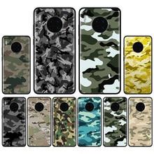 Camouflage motif Camouflage militaire armée housse pour Huawei Mate 10 20 Lite Mate 20 30 Pro Y5 Y6 Y7 Y9 2019 Y9S Y7P Y6S coque