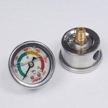 Compresseur de pcp 300bar M10 4500psi   Pompe à main, jauge de pression fluorescente