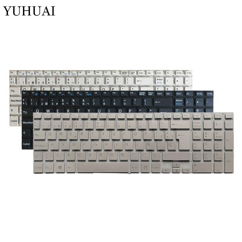 Español de teclado para portátil para Sony Vaio Fit 15 SVF15 SVF15A SVF15E SVF15A16CXB SVF15N17CXB SVF152100C SVF152A29M