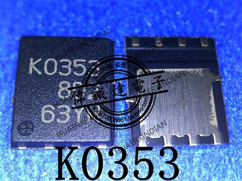 1 piezas nuevo Original RJK0353DPA-00 KO353 K0353 RJK0353 QFN8 en stock imagen real