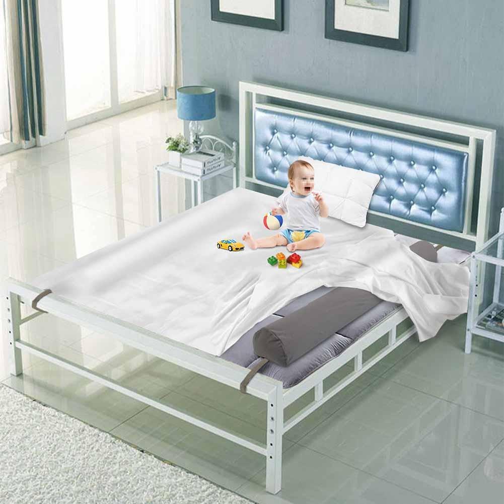 High Quality Inflatable Toddler Baby Bed Bumper Anti-fall Non-slip Protective Baby Crib Bed Railing 123x21x15cm enlarge