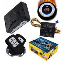 cardot engine start stop button remote start engine start pke smart car alarm system