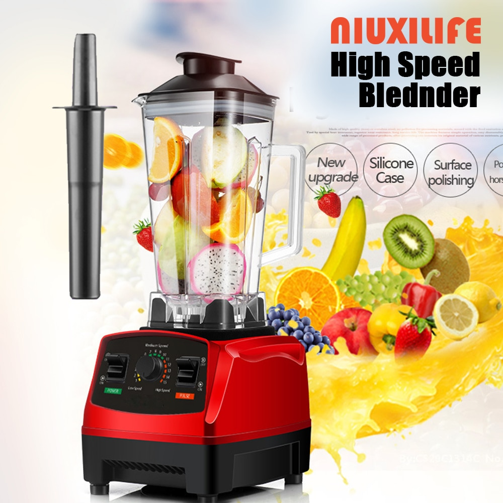 BPA 2200W Heavy Duty Professional Blender High Speed Blenders Commercial Mixer Ice Juicer Fruit Food  Smoothies Processor 2L zk 1000w heavy duty commercial and household grade blender mixer juicer fruit food processor ice smoothies 2l
