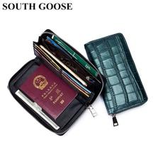 Fashion Stone Pattern Women Long Clutch Wallets Ladies Multifunction Handbag Business Organzier Purs