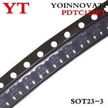 50 pcs/lot PDTC124ET PDTC124 PDTC124E W17 SOT23-3 IC