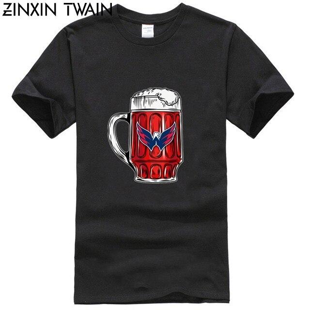 I LIKE TO DRINK BEER & WATCH MY WASHINGTON CAPITALS ICE HOCKEY SHIRTS