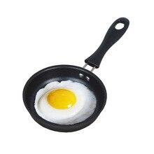 Mini frying pan pure iron breakfast magic pot egg magic pan small frying pan Creative Design Kitchen Gadget h2