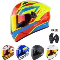 men full face casco moto god of war motorbike racing casque moto sun visor rear spoiler cool street riding helmet motorcycle