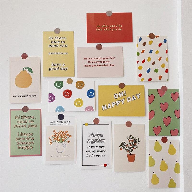 13-fogli-colorati-fiori-di-frutta-cartolina-set-arte-inglese-carino-carta-decorativa-creativo-fai-da-te-sfondo-adesivo-da-parete-puntelli-foto
