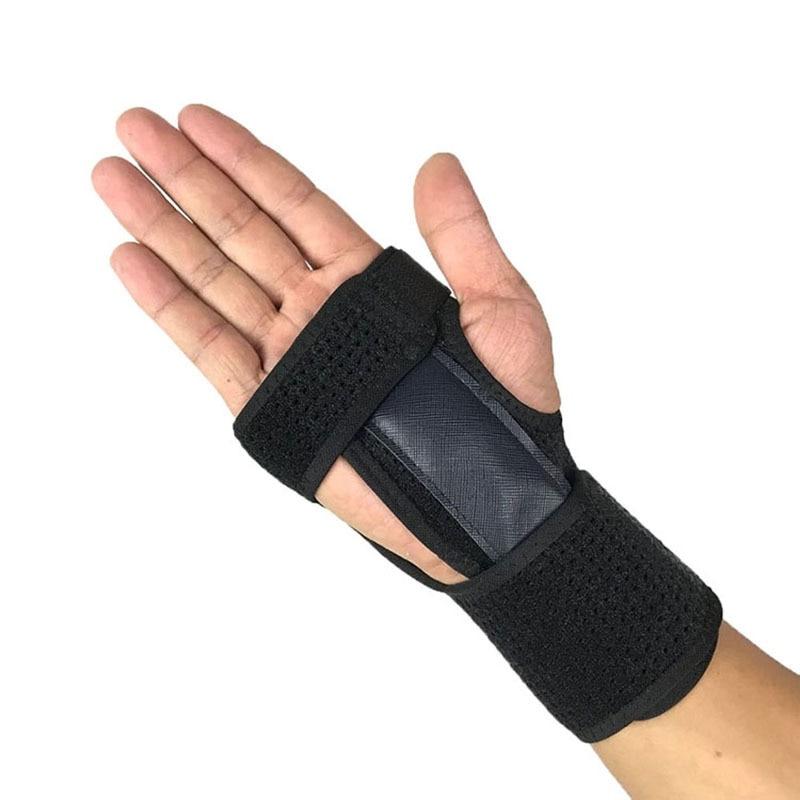 1 pcs Men Women wristband Brace Wrist Brace Support Sprains Arthritis Carpal Tunnel Bandage Fracture Rehabilitation Correction Belt