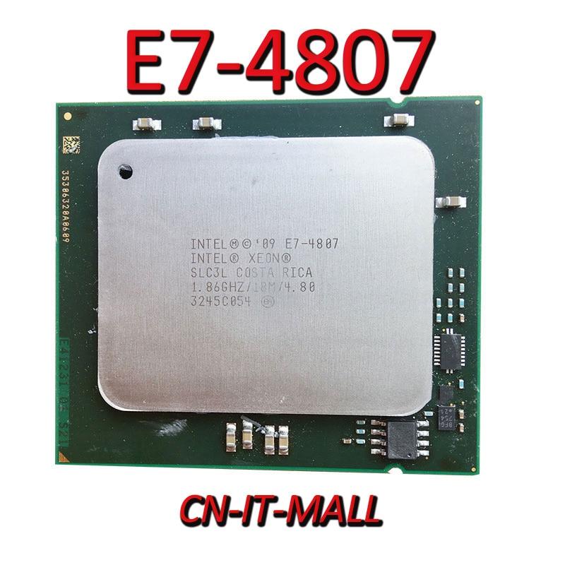 Вытяжной процессор Xeon E7-4807 1,86G 18M 6Core 12 Thread LGA1567