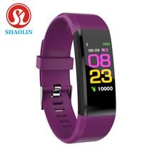 SHAOLIN Smart Bracelet Watch for Men Women Smart Wristband Fitness Tracker Pressure Sport Watch Hear