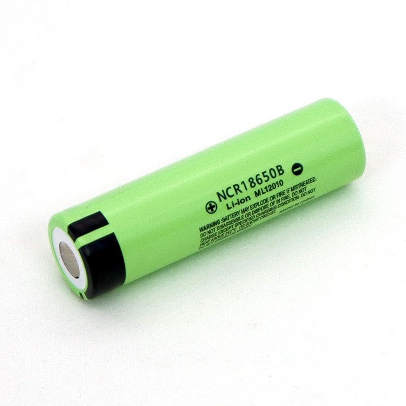 Batería recargable de litio NCR18650B para linterna, 3,7 V, 3400 mAh, 18650, 100% original, nueva