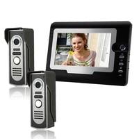 sysd 7 inch wired video doorphone intercom waterproof camera home security video intercom system