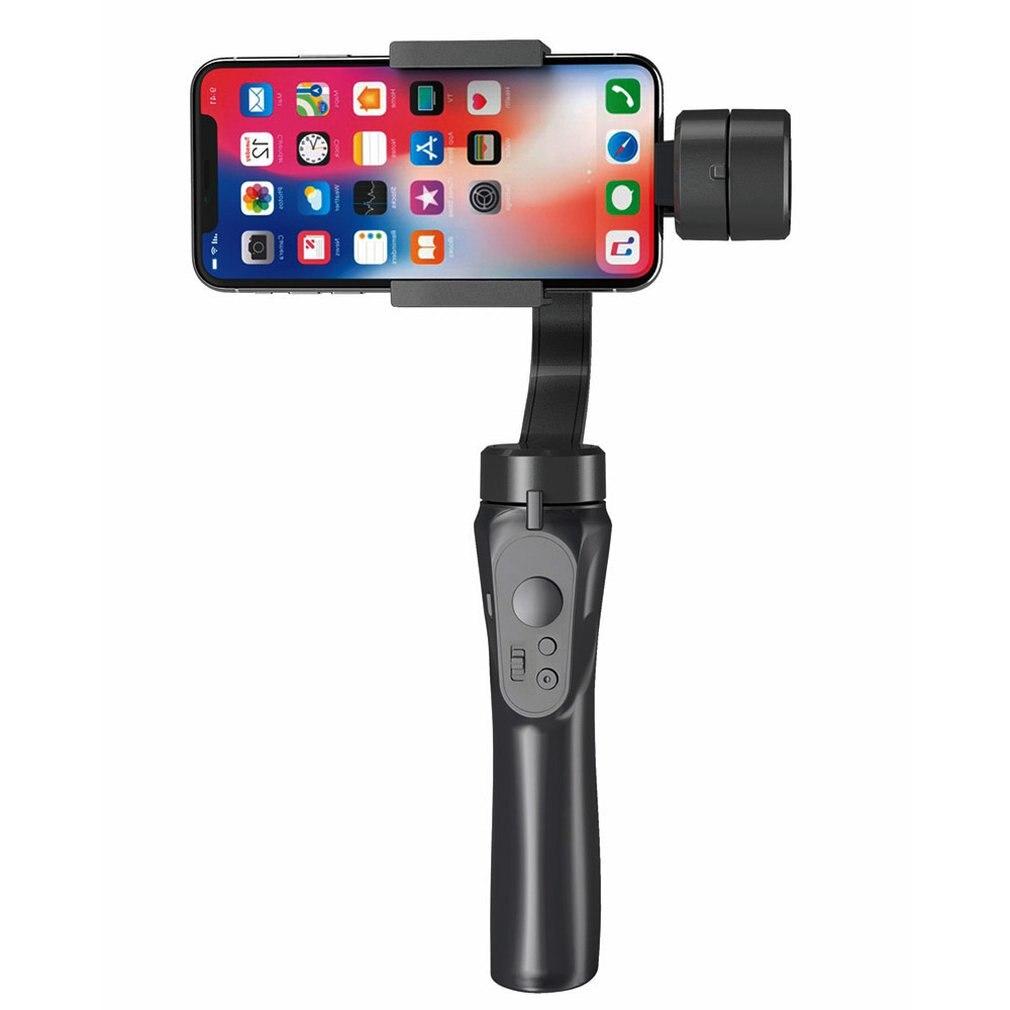 Estabilizador de mano de 3 ejes Gimbal Smartphone para Gopro Cámara trípode/palo Selfie para teléfono móvil Anti-vibración palo Selfie