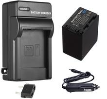 Bateria + carregador para sony HDR-CX115, HDR-CX116, HDR-CX305, HDR-CX305E, DR-CX455, HDR-CX485, HDR-CX535E, handycam filmadora