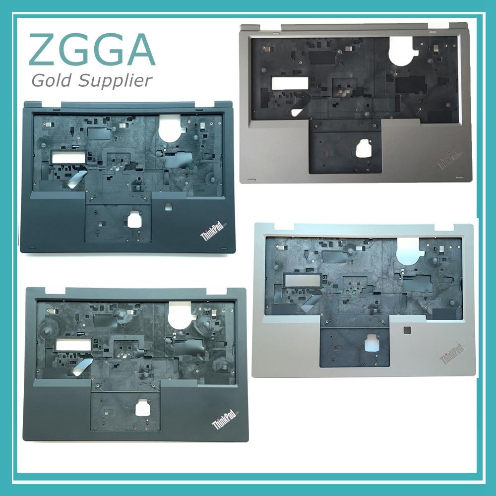 Nuevo para Lenovo Thinkpad L380 Yoga palmest Cover bisel KB funda superior negro plata 02DA297 02DA298 02DA301 02DA300 460.0FC04.0001