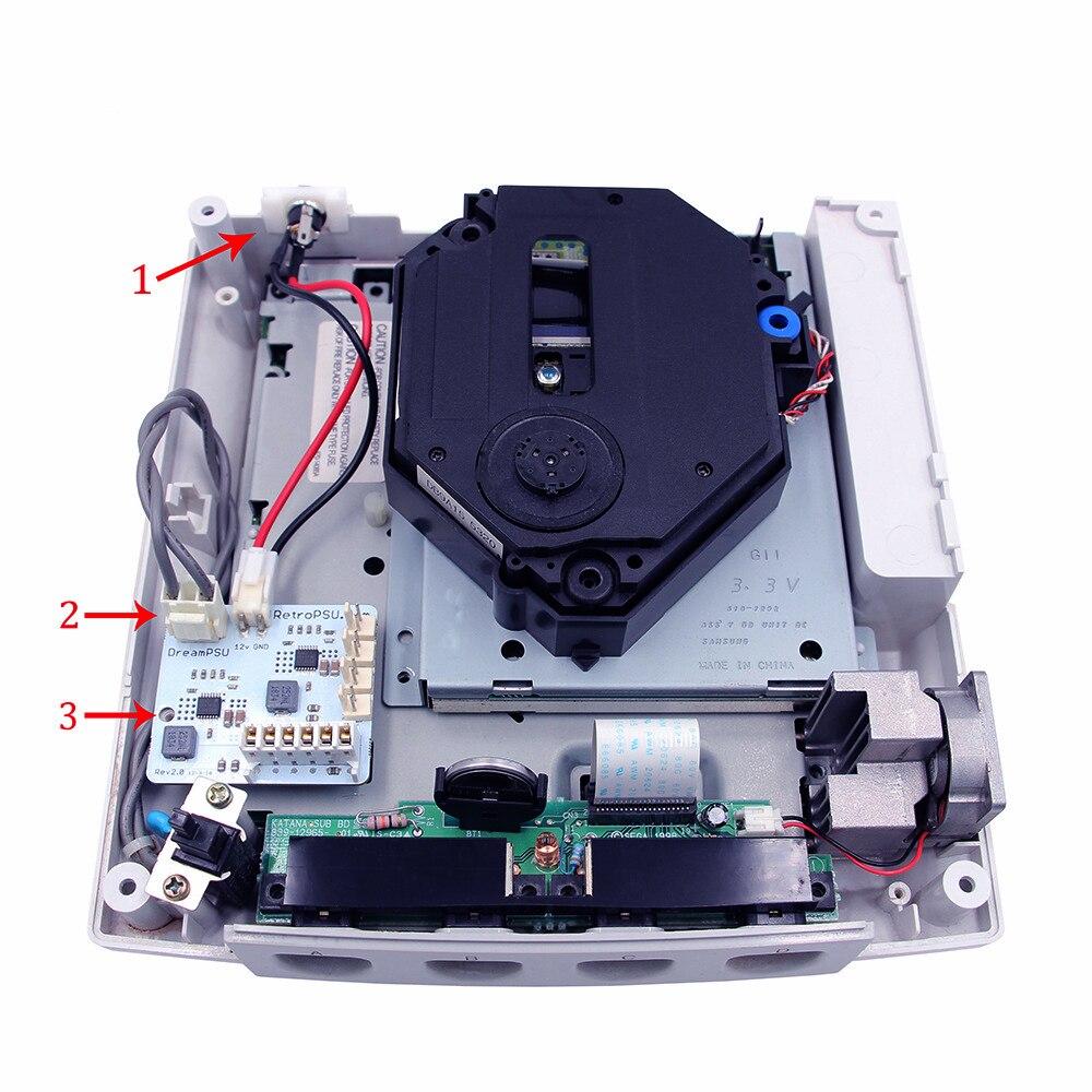 10 قطعة مجموعة أدوات امدادات الطاقة مناسبة ل Dreacast لعبة وحدة التحكم ل Dreampsu 12 فولت Rev 2.0 نسخة استبدال عدة