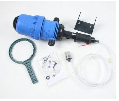 Fertilizer injector dispenser proportionalizer 0.4%-4% fertilizer water driven chemical injector