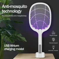 mosquito trap with purple light electric mosquito killer usb 1200mah rechargeable bug shoot summer fly killer