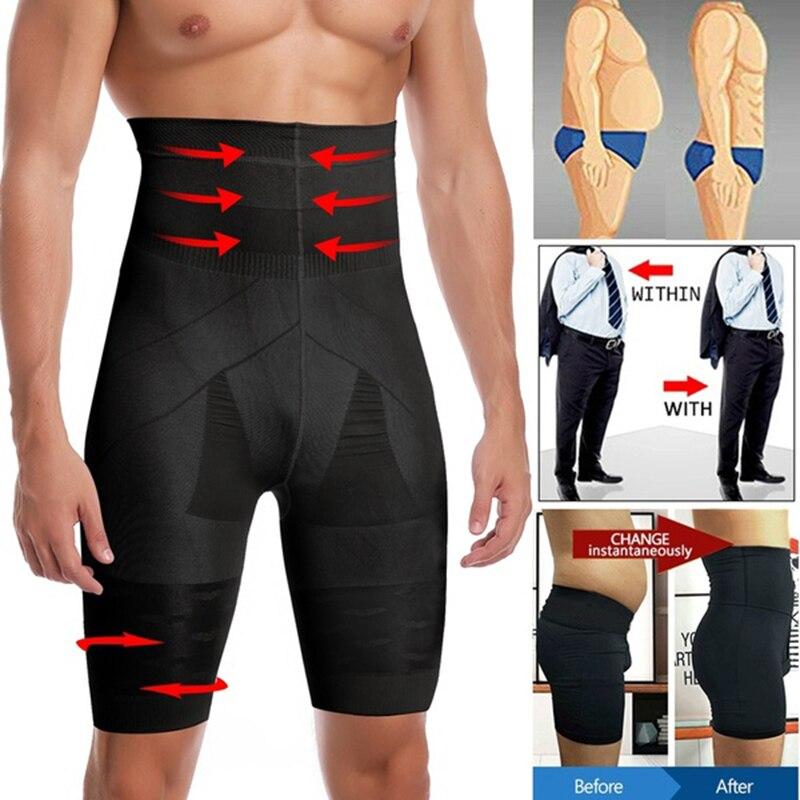 los-hombres-para-adelgazamiento-de-cuerpo-shaper-cintura-entrenador-cintura-alta-bragas-de-control-remodelantes-de-compresion-ropa-interior-abdomen-barriga-shaper-pantalones-cortos