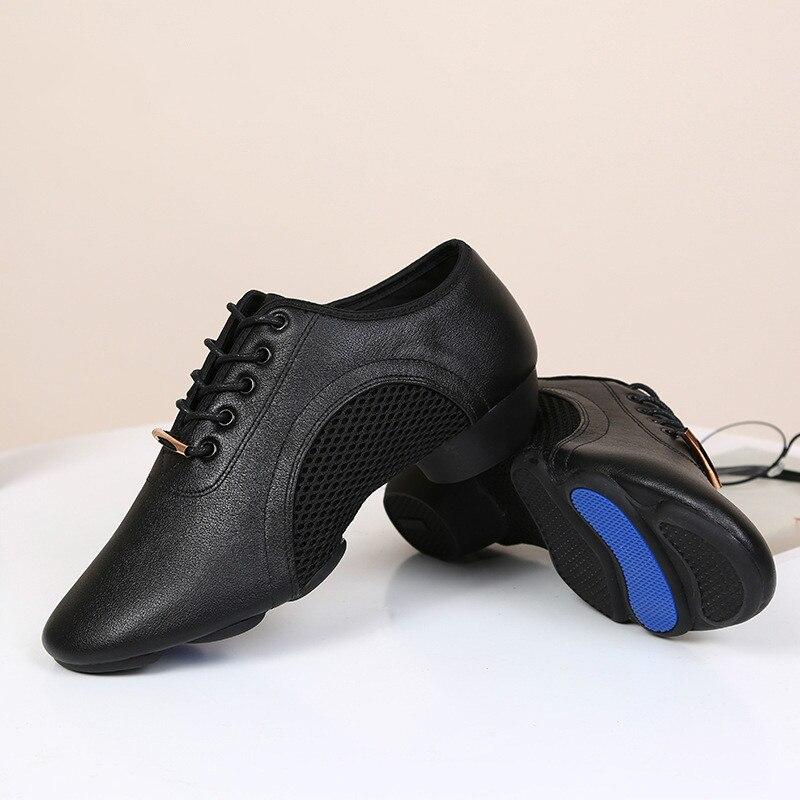 أحذية جاز عصرية جديدة رائعة تتميز بنعل خارجي ناعم لممارسة الرقص والتنفس أحذية رياضية للنساء أو ارتداء يومي