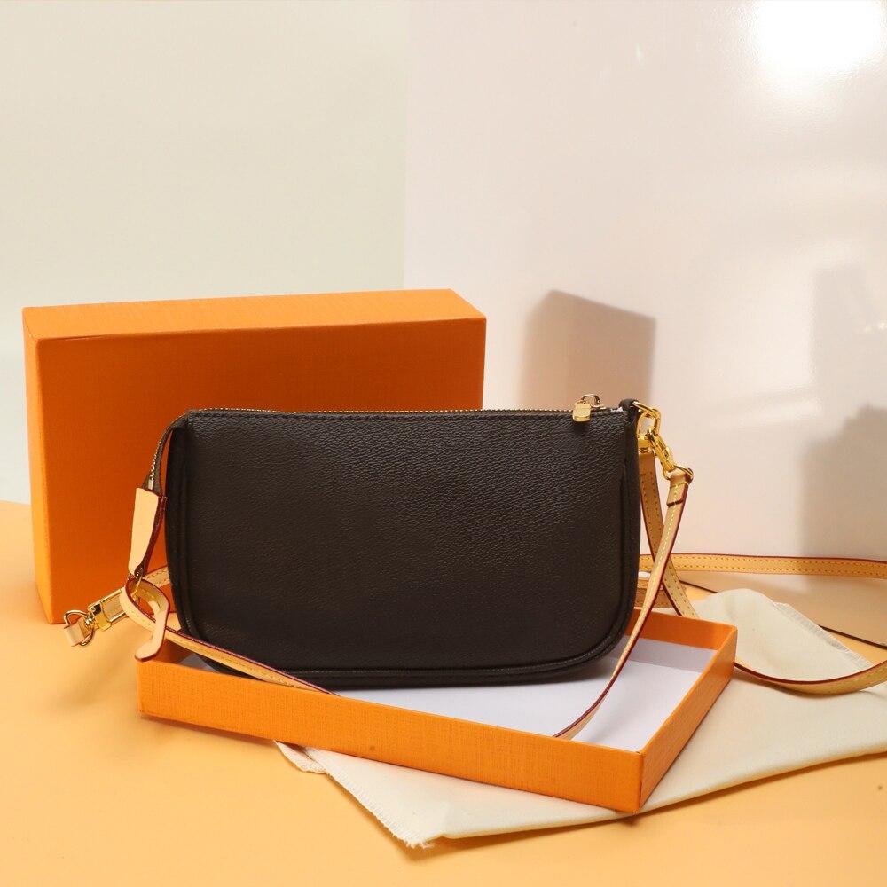 تسليم سريع أعلى جودة فاخرة تصميم الرغيف الفرنسي حقيبة تحت الإبط حقائب كتف استخدام في تركيبة مع صندوق شحن مجاني